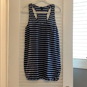 JCrew navy cover-up